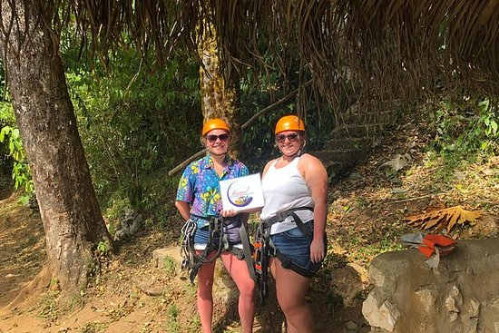 Regnskog Zip Line Adventure & Belize...