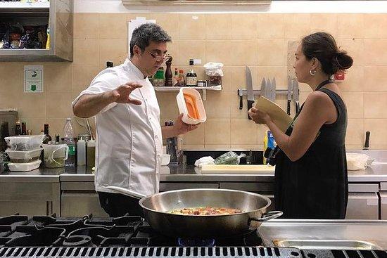 Cocinando con un chef local en...