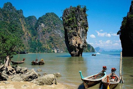 Phi Phi Island Tour de barco grande...