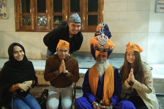 Visite de la ville d'Amritsar...