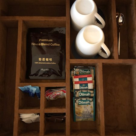 Sheraton Grand Macao, Cotai Strip: Sheraton Grand Macao Hotel - coffee & tea facility