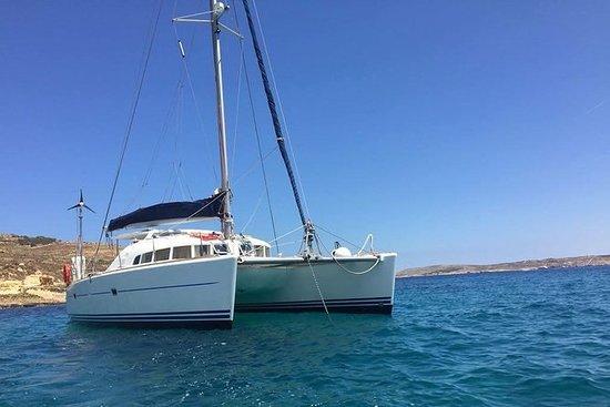 Viagem de catamarã em Malta