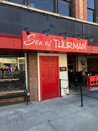 Son of Thurman: out front