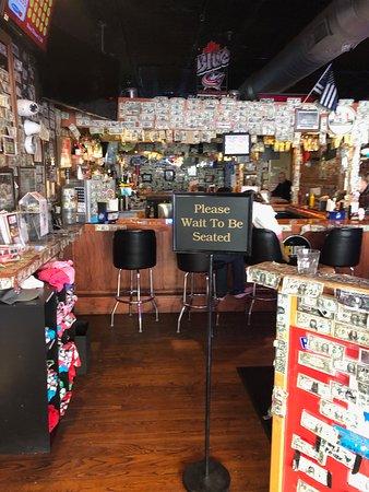 Son of Thurman: bar just inside