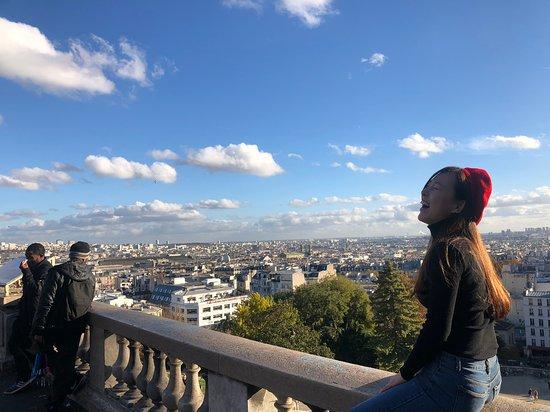 Basilique du Sacre-Coeur de Montmartre: 풍경이 끝내줍니다