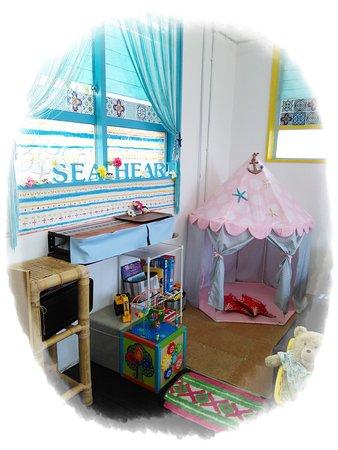 sea Heart: 店内にあるキッズスペース♪