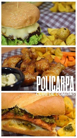 Hamburguesa La Pola, Alas Salavarrieta, Chorizo Libertador