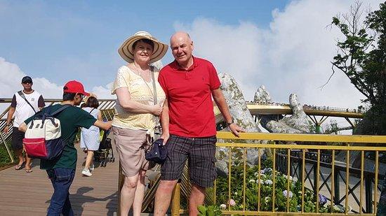 Tran Private Tours: Shore Excursion to visit GOLDEN BRIDGE from CHAN MAY or TIEN SA DA NANG port
