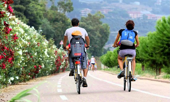 25 km Bicycle path