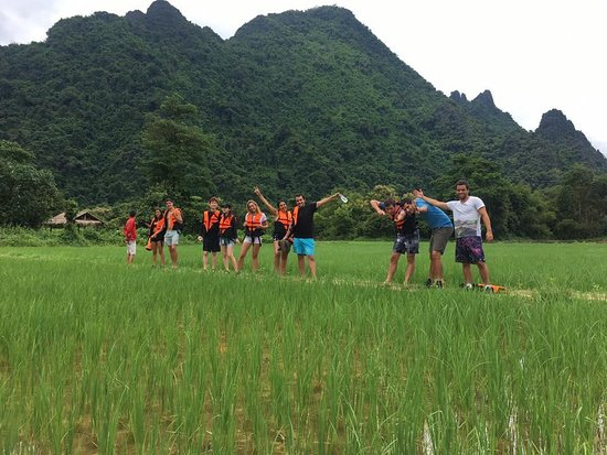 Vang Vieng central adventure