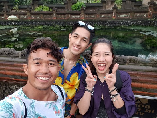 Feel  so fresh and glowing after swin and got purified by Holy Water Spring 🔥😍
