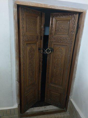 cave door Quasam ibn abbas