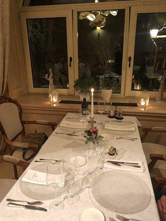 Restaurant Villa Ariston : inside location