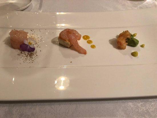 Restaurant Villa Ariston : fresh shrimps