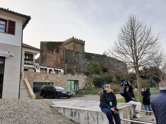 Vista do castelo do exterior