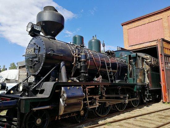 Nurmes, ฟินแลนด์: Steamrail