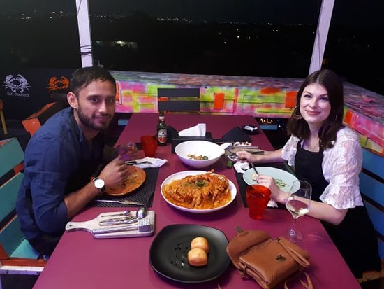 Mama Chew 360 Rooftop Jimbaran Bali: Mr/Mrs Jessica tanja and Tonny ( Germany )