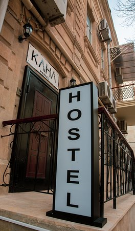 KAHA Hostel & Hotel: Entrance Logo