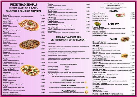 Bolzano Vicentino, Ιταλία: menu