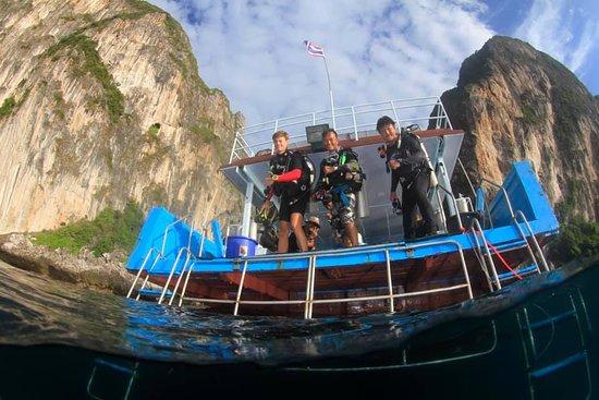 PKT Diving: boat fun
