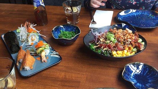 SushiMasa: Lunch.