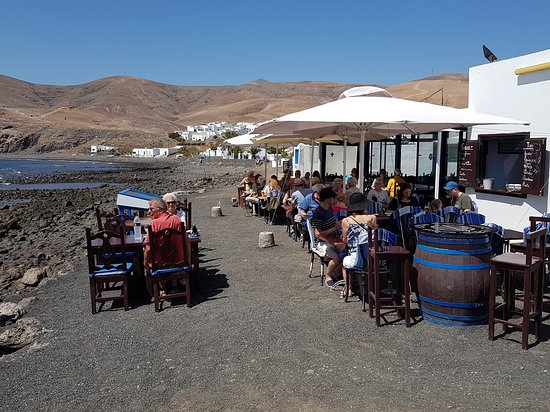 Restaurante Casa Tino Playa Quemada: Terrasse
