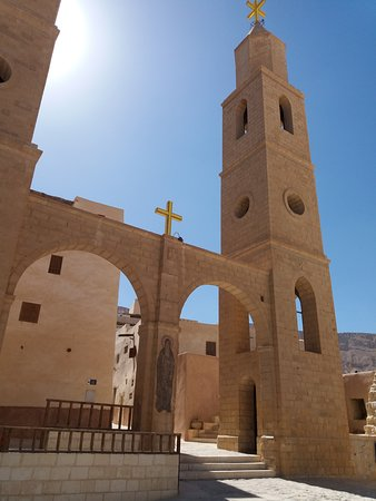 St Anthonys Monastery in Zafarana Day Trip from Hurghada www.yourdestinyhurghada.com