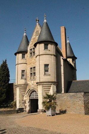 Chateau d'Angers ouvert: Angers