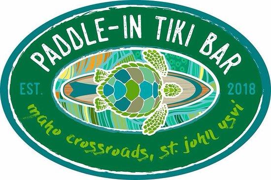 Maho Bay, St. John: Paddle-In Tiki Bar is located in Maho Crossroads, the property directly across from Maho Beach in St. John, USVI.