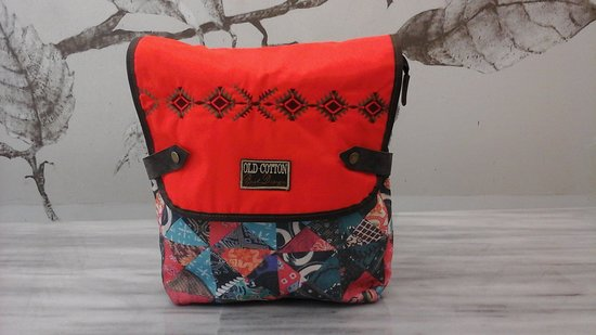 Swank Greece Old Cotton Cargo: Back Pack