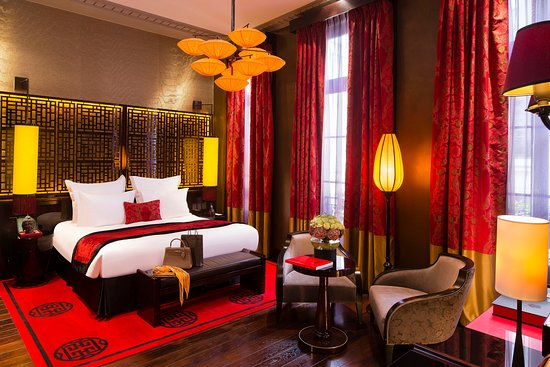 Grande Suite Historique – Bild från Buddha-Bar Hotel Paris, Paris - Tripadvisor