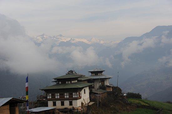 Trongsa District, Bhutan: Mount Gangkar Puensum