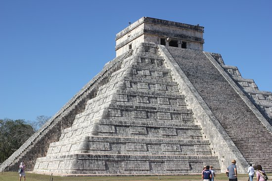 Pyramide in Chichen Itza