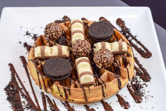 Oreo/ Ferreo Bueno waffle