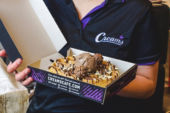 Creams Cafe: We also deliver from UberEats/ Deliveroo/ Just Eat