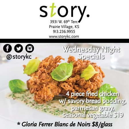 Fried Chicken Special on Wednesday Nights