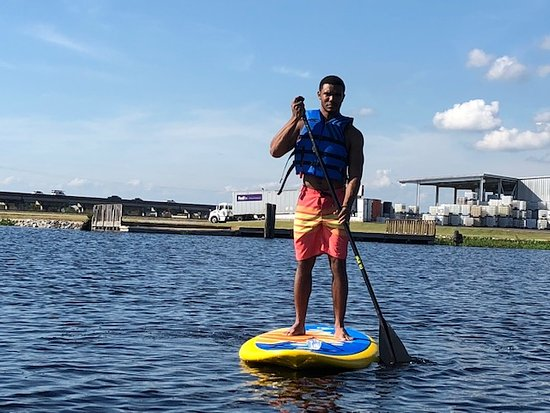 Manchac, LA: Stand Up Paddle Boarding...not just for the ladies!