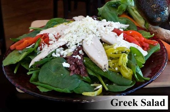 Hob Nobs Foods & Spirits: Our Greek Salad