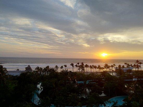 Sonnenuntergang im Pazifk