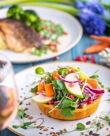 Vegetarian dish spring 2019