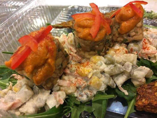Food Factory: tempeh salad