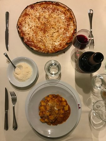 Great food from a great Italian kitchen - the heard pizza was a special for my wife