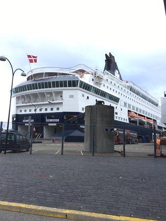 Terminalen København med Pearl seaways mod Oslo