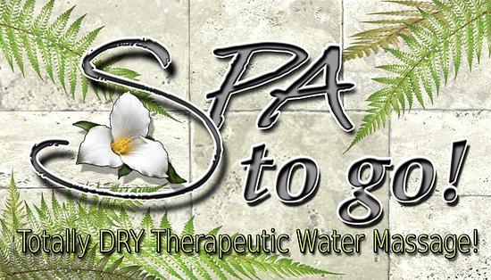 SPA to go!  Aquamassage Dry Hydrotherapy, Gatlinburg, TN