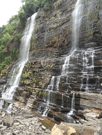 Labe, Гвинея: One of three waterfalls visited