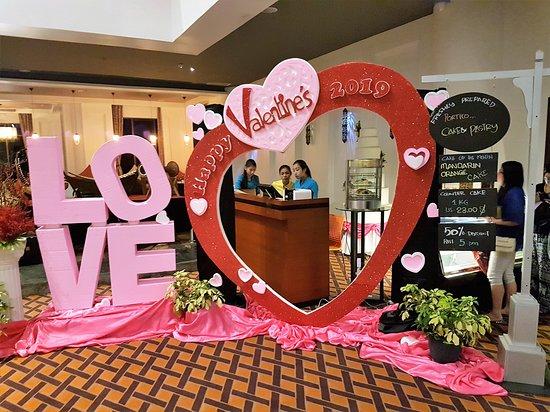 Rose Garden Hotel Yangon: Valentinstag