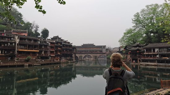 Fenghuang County, Chiny: My clients at Fenghuang
