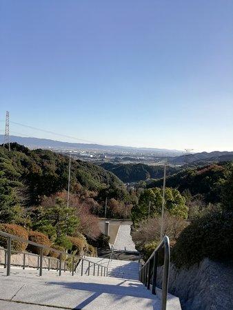 境内の眺め