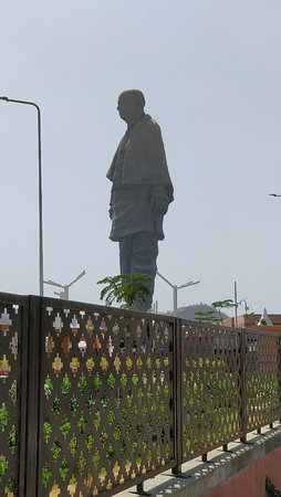Spectacular to watch the site of the statue of unity.