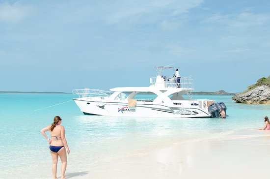 Exuma Water Sports: The wonderful boat!